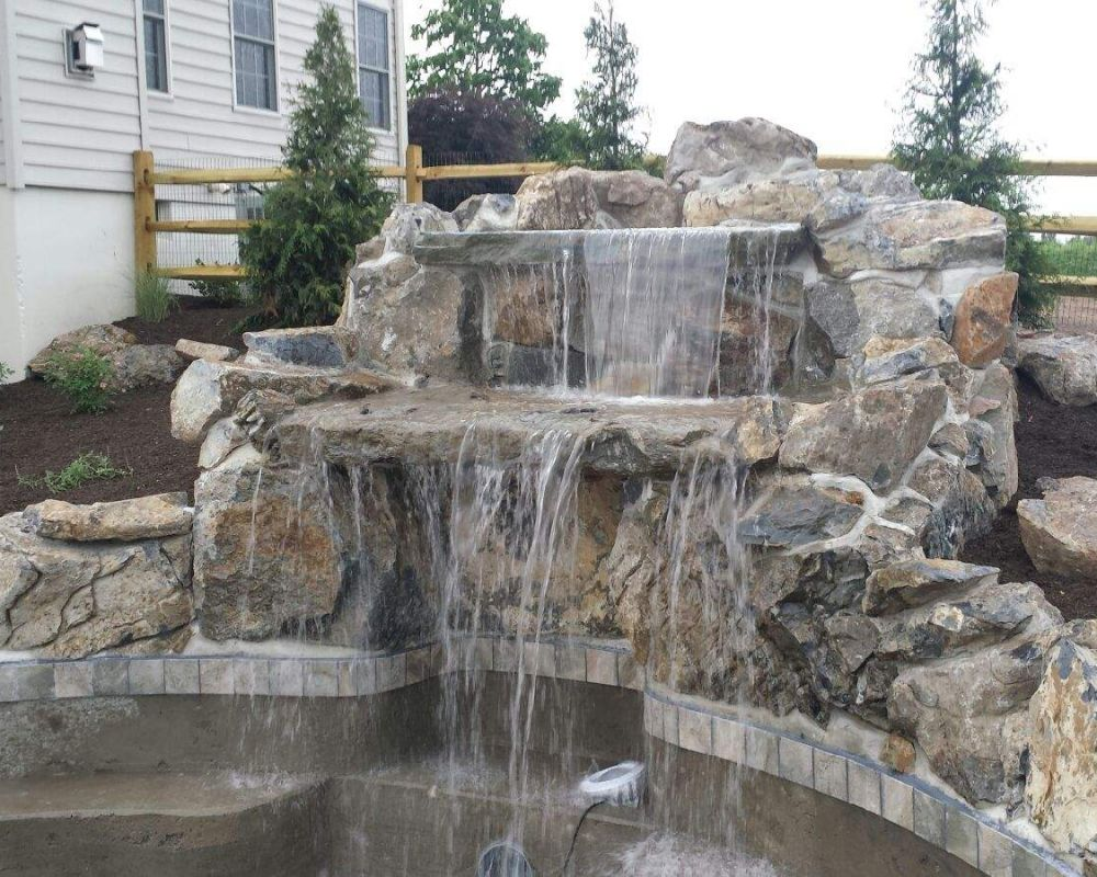 New custom waterfall installed by RLN!